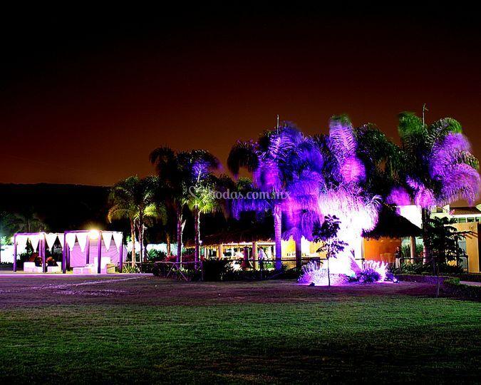 Iluminación de la Quinta