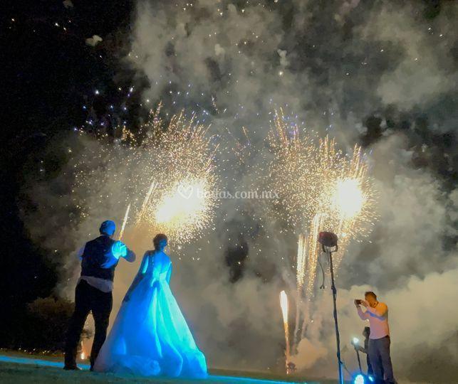 Wedding K+J, SMA. Piromusical