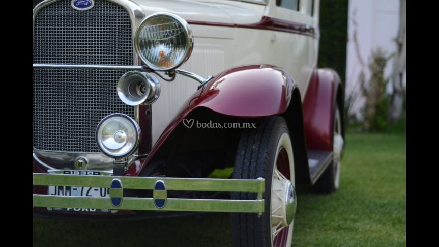 Frente ford 1928
