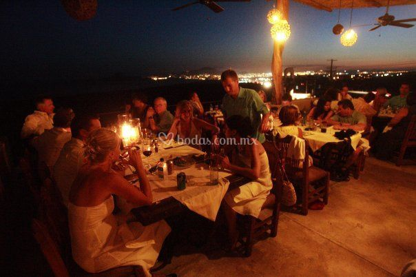Welcome party en Sunset Terrace