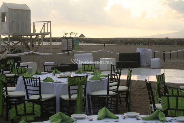 Organiza su boda en la playa