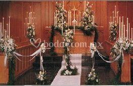 Flores para iglesias