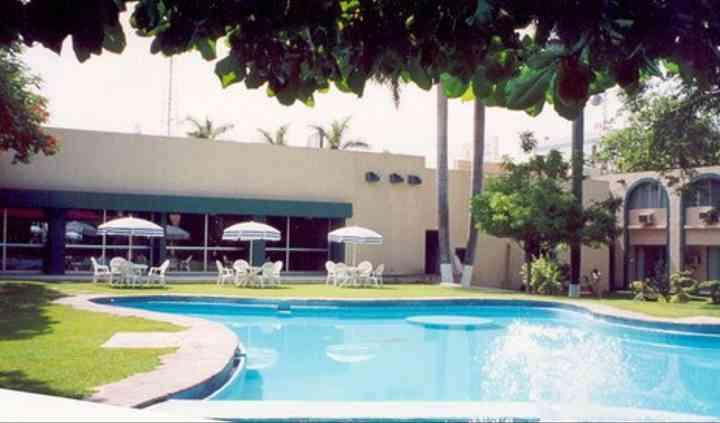 Vegetación del hotel