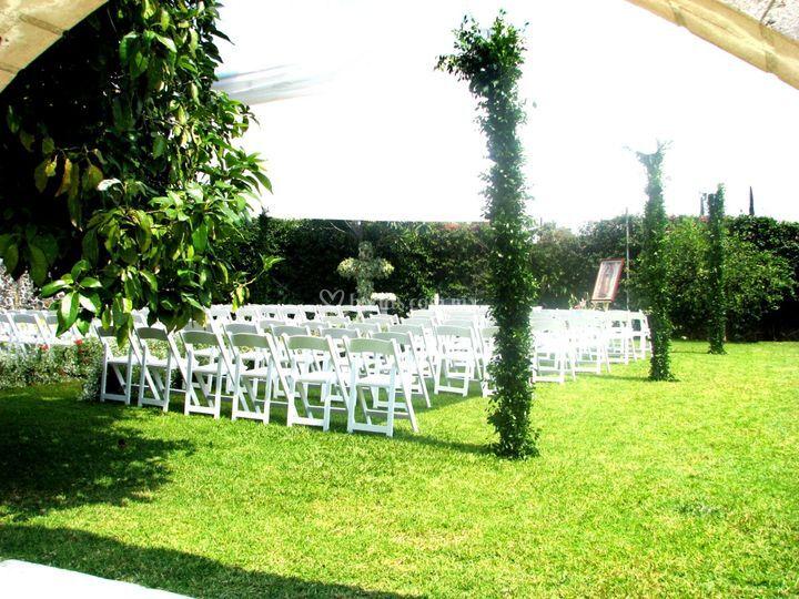 Jardín real oaxtepec