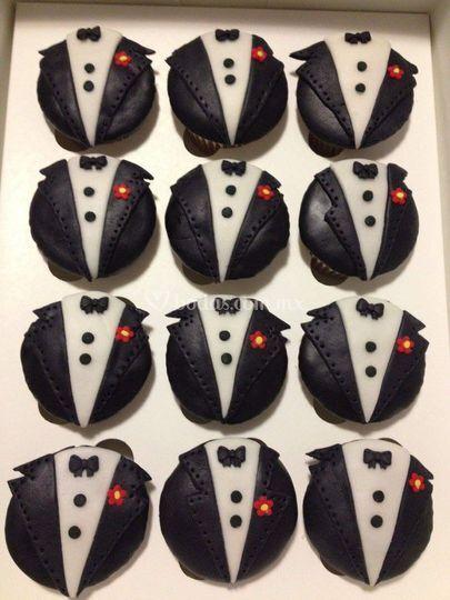 Cupcakes novio