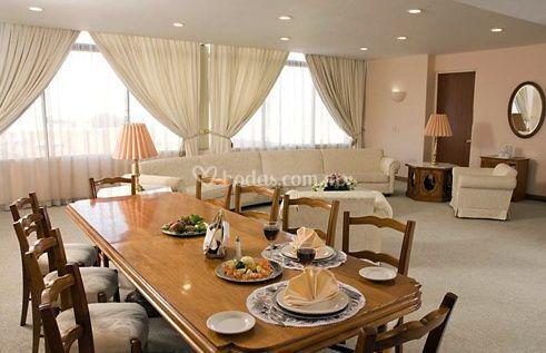 Comedor máster suite