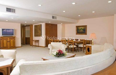 Sala de estar máster suite