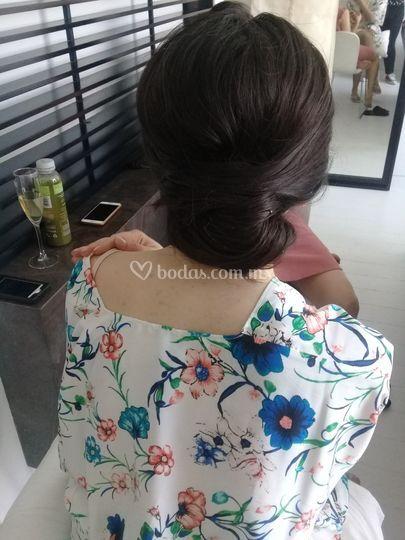 Peinado  para novia