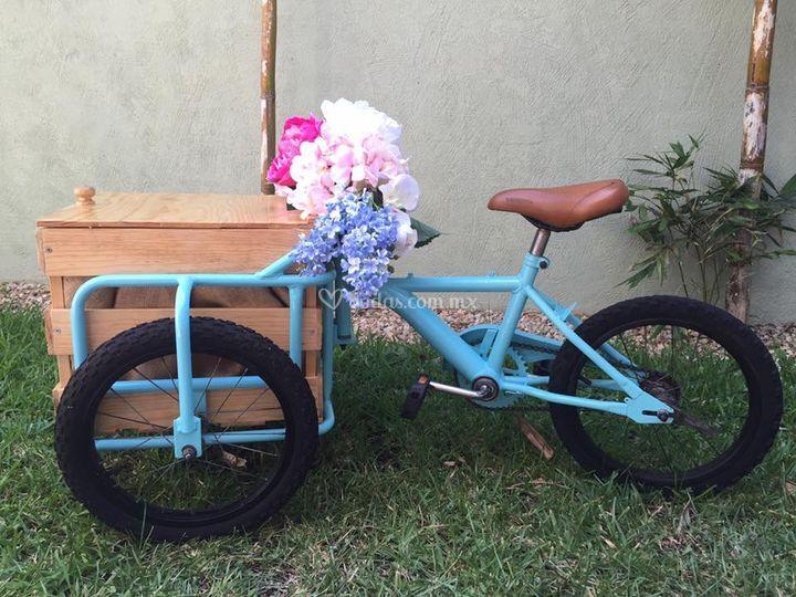 Triciclo para bodas