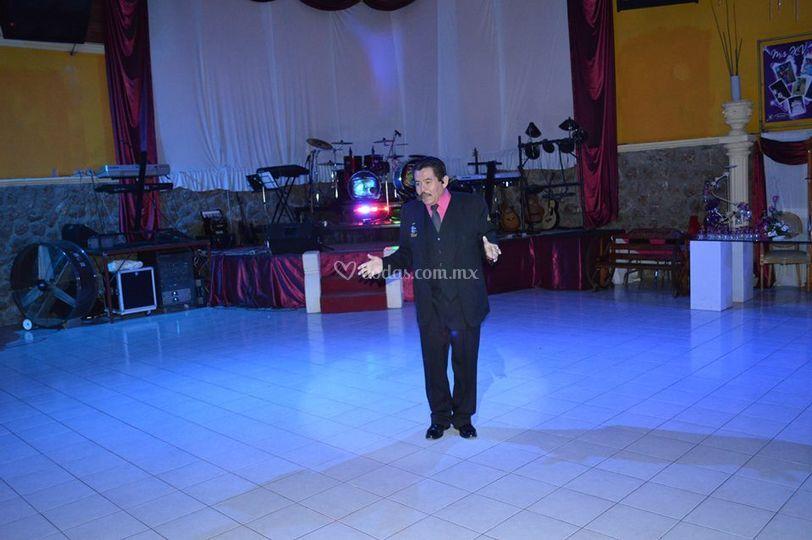 Coordinador general del evento