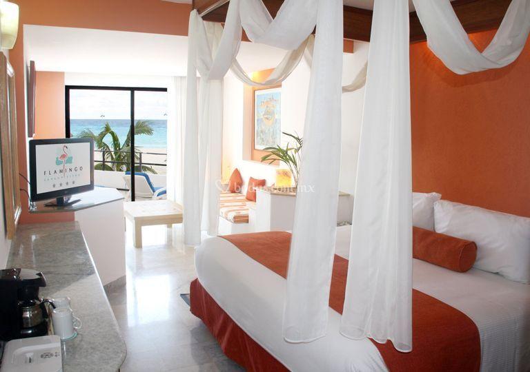Habitación Flamingo Cancún
