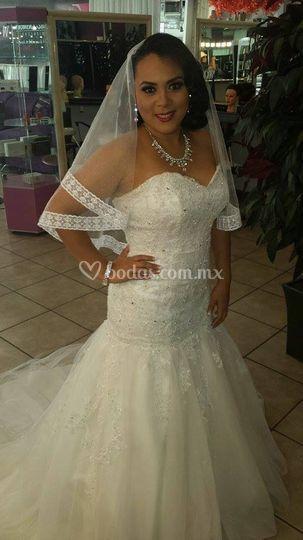 Vestidos de novia sencillos en villahermosa