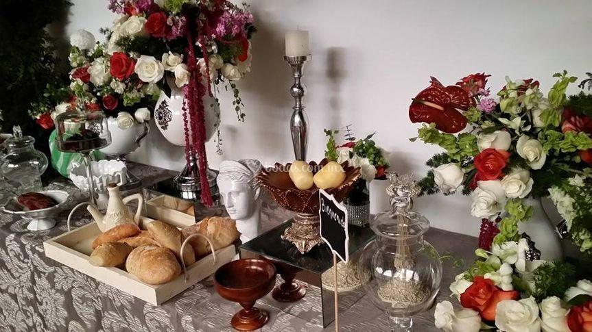 Mesas dulces y saladas