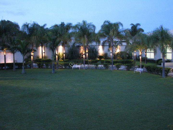 Jardín salón