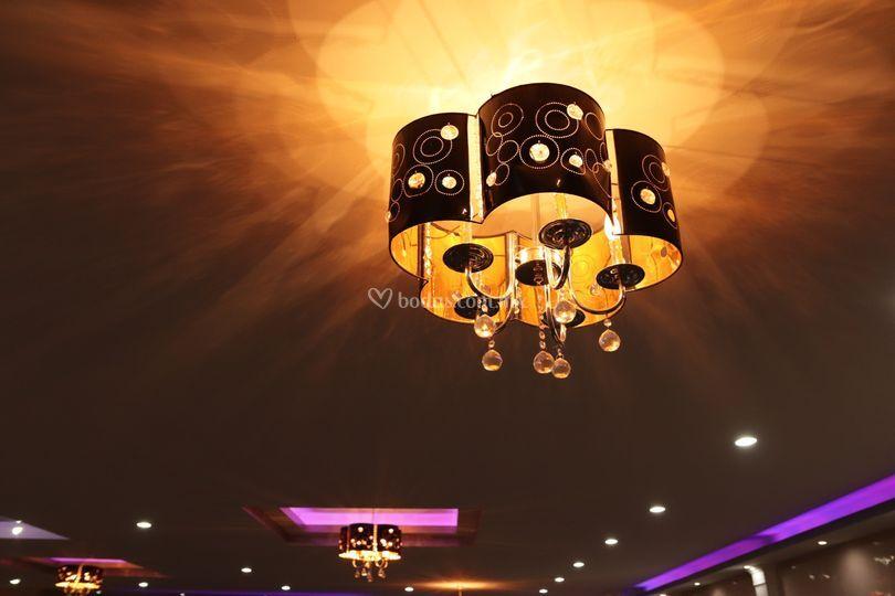 Iluminación del salón