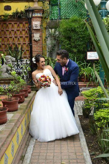 Sesión fotográfica boda
