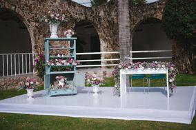 Mobiliario y decoración floral