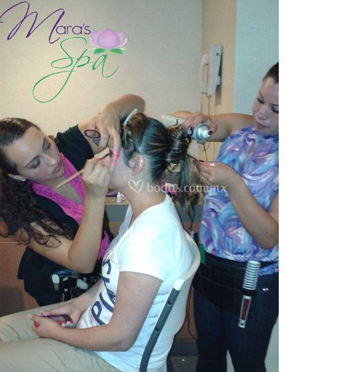 Mara's spa novias