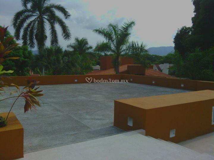 Terraza para ceremonias
