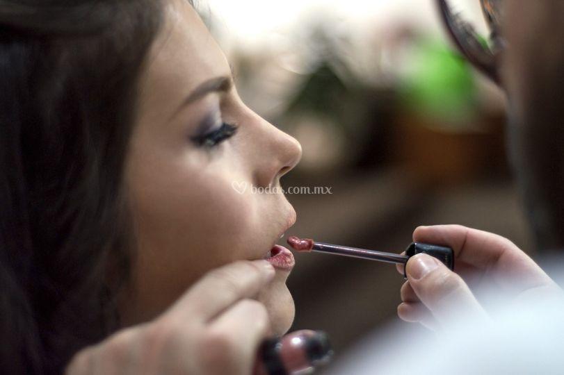 Maquillaje en casa