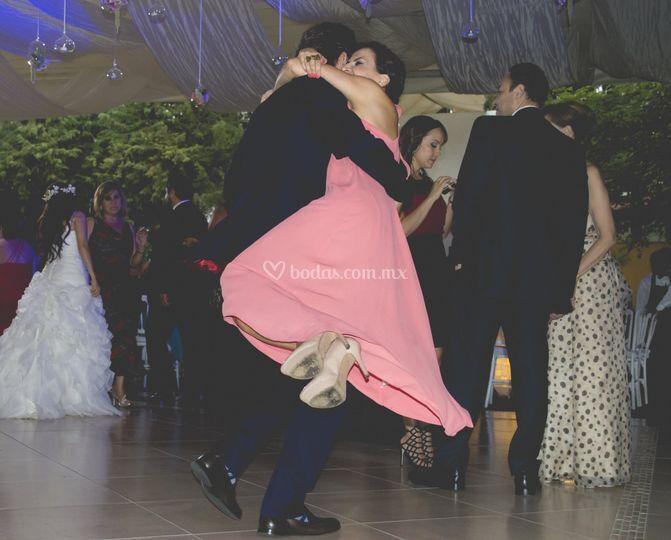 Disfrutando el baile
