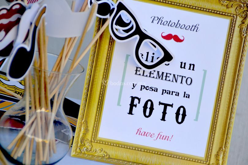 Elementos photobooth