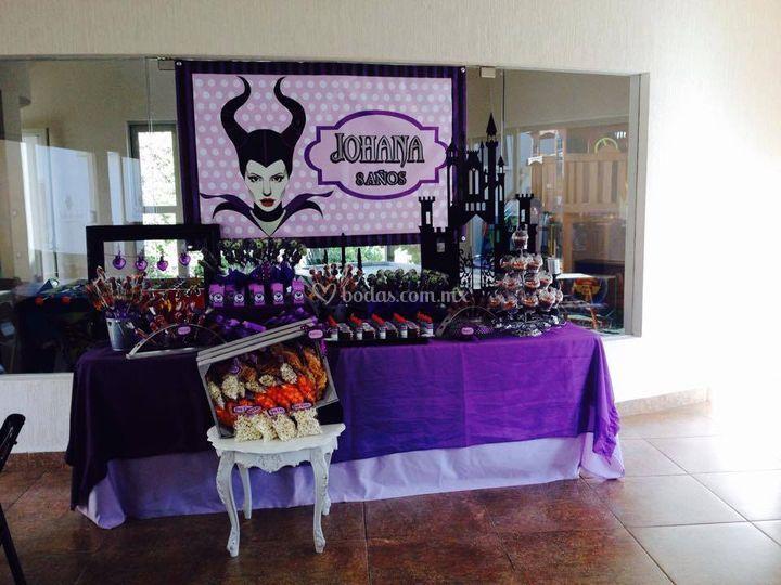 Mesas dulces tematizadas