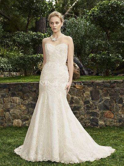 Hermoso vestido Casa Blanca