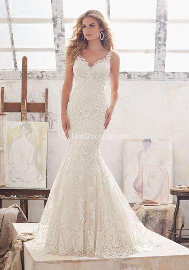 Hermoso vestido Morilee