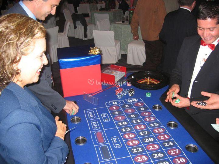 Fiesta temática casino