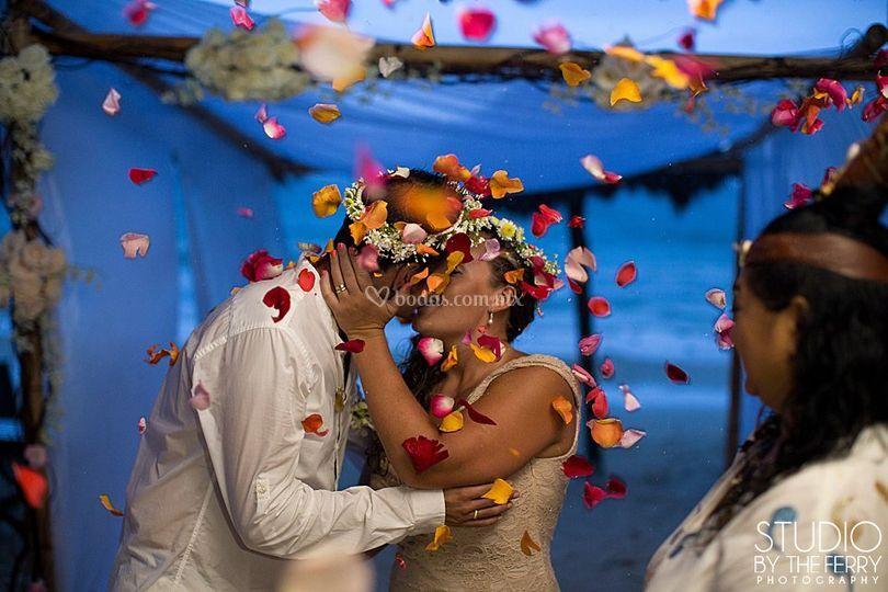 Ceremonia Maya en Ana y Jose
