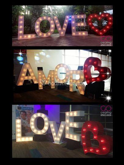 LOVE + corazón