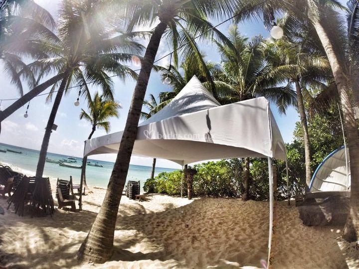 Montaje en playas