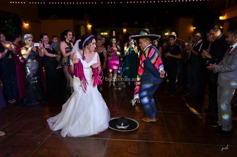 Una boda muy mexicana
