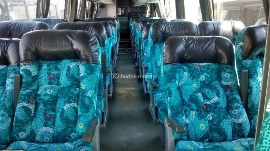 Asientos autobuses