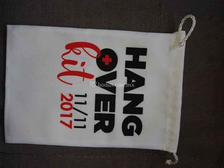 Hangover bag personalizada