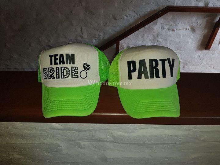 Team bride frases