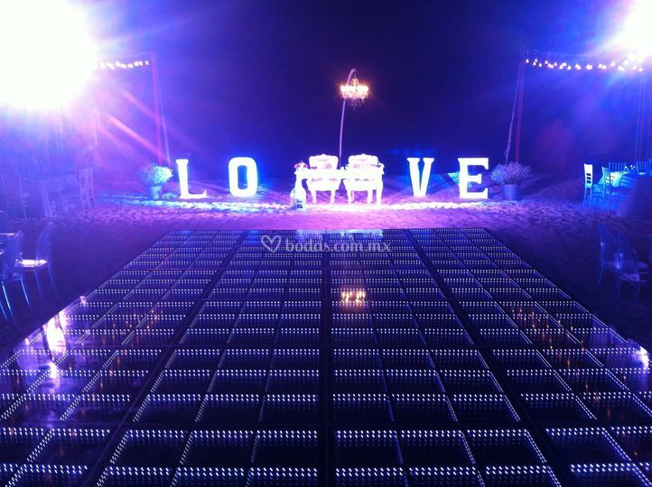 Love mandala beach