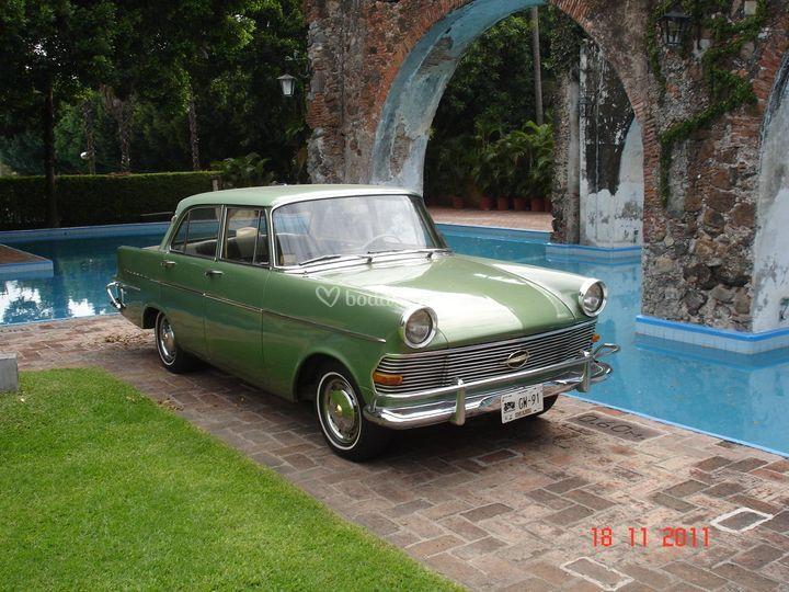 Opel 1962 Olympia Rekord De Renta Auto Antiguo Foto 4