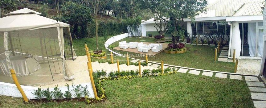 Sal n villa campestre for Salon jardin villa esmeralda tultitlan