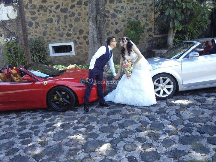 Ferrari y Audi