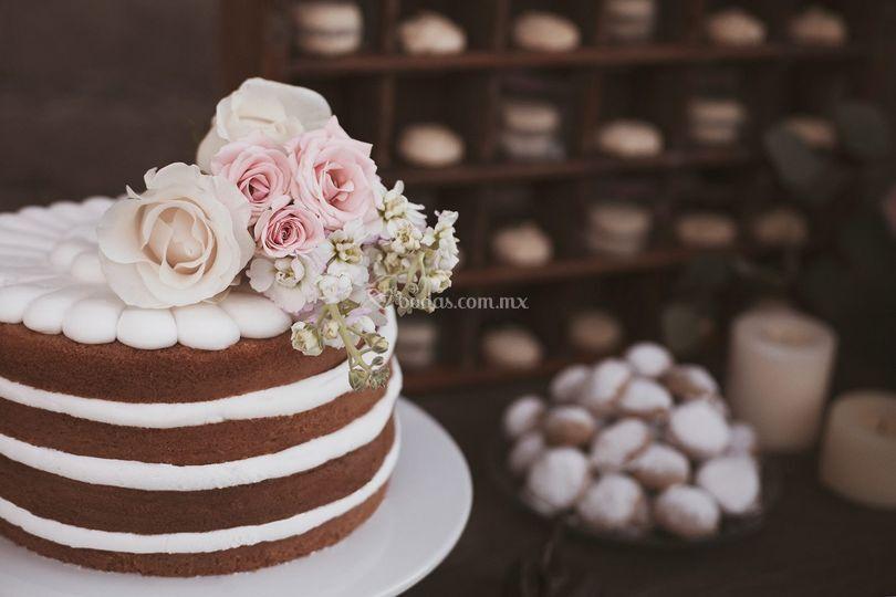 Naked cake de Alegratto