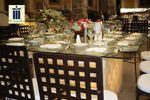 Mesa de cristal cuadrada de La Casa del Corregidor