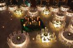 Iluminaci�n de mesas de La Casa del Corregidor