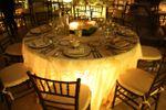 Montaje mesa redonda de La Casa del Corregidor