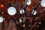 Fuente con bolas de luz de La Casa del Corregidor