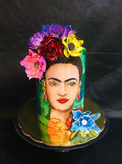 Pastel temático boda mexicana