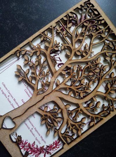 Invitación de árbol