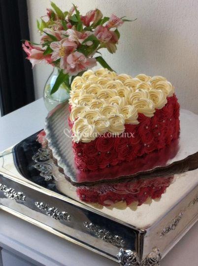 Pastel romántico