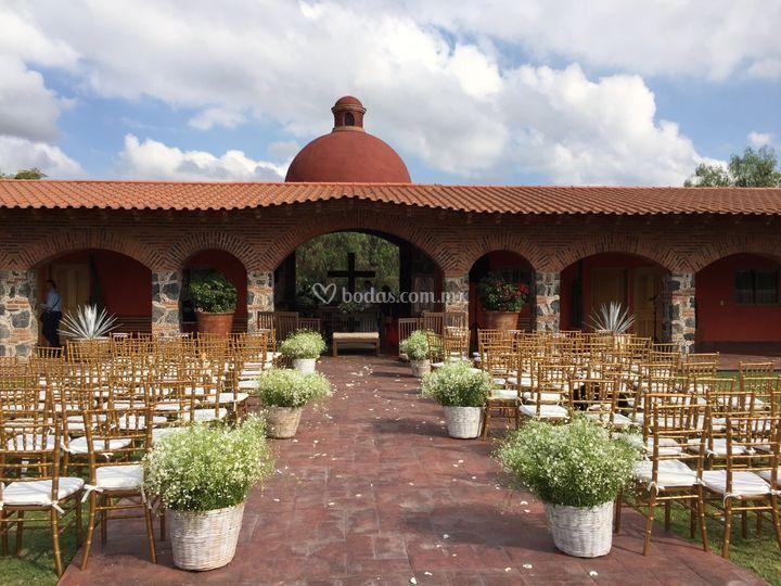Ceremonia en cúpula central